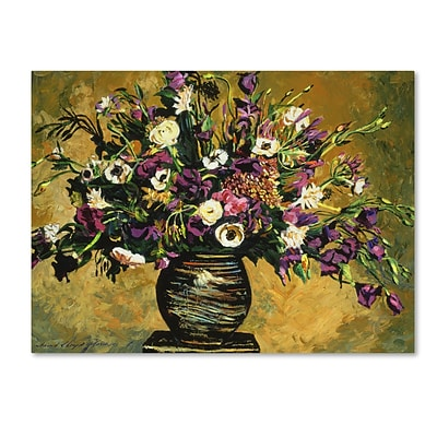 Trademark Fine Art David Lloyd Glover Renaissance Still Life 14 x 19 Canvas Stretched (190836187423)