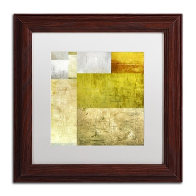 Trademark Fine Art Michelle Calkins Neutral Study 1.0 11 x 11 Matted Framed (190836074488)