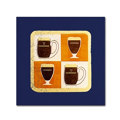 Trademark Fine Art Guinness Brewery Guinness II 18 x 18 Wall Art (190836243204)