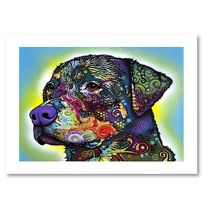 Trademark Fine Art Dean Russo The Rottweiler 18 x 24 Paper Rolled (190836151073)