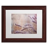 Trademark Fine Art Cora Niele Dew Fox Tail Grass 11 x 14 Matted Framed (190836252428)