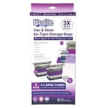 Woolite 2 Piece Air-Tight Jumbo Cube Vacuum Storage Bags