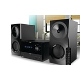 ION IAS01 Compact Bluetooth Shelf Hi-Fi FM Stereo System with CD Player