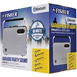 Fisher FBX600W 80-Watt Karaoke Party Bluetooth Speaker