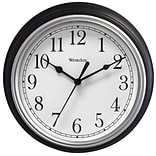 9 Decorative Wall Clock (Black)