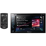 6.2 Double-DIN In-Dash DVD Receiver with Bluetooth® & WVGA Clear-Resistive Touchscreen
