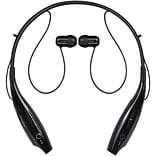 2BOOM HPBT500K Transporter Bluetooth Neckband Earphones with Microphone (Black)