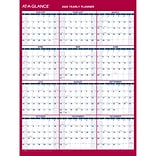 2020 AT-A-GLANCE 12 x 15 11/16 Vertical/Horizontal Reversible Erasable Compact Wall Calendar (PM33