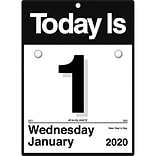 "2020 AT-A-GLANCE 6 x 6 ""Today Is"" Daily Wall Calendar (K1-00-20)"