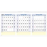2020 AT-A-GLANCE 24 x 12 3-Month Horizontal Wall Calendar QuickNotes (PM15-28-20)