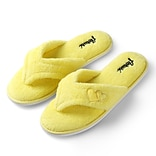 Aerusi Woman Splash Spa Slipper Relax Home Yellow Size 11 - 12