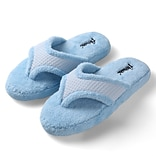 Aerusi Woman Relax Spa Slipper Home Blue Size 11 - 12