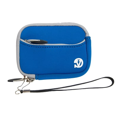 Vangoddy Point and Shoot Camera Sleeve Pouch Blue