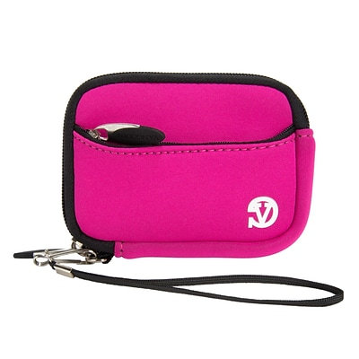 Vangoddy Point and Shoot Camera Sleeve Pouch Pink