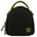 Vangoddy Mini Laurel Point and Shoot Camera Case Green
