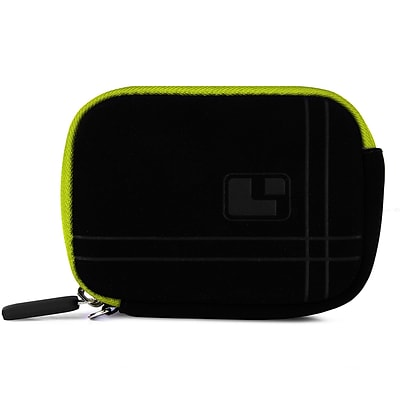 SumacLife  Microfiber Point and Shoot Camera Pouch Green