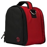 Vangoddy Laurel Red Sport and Action Camera Compact Camera Mirrorless Camera Case