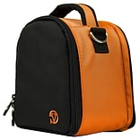 Vangoddy Laurel Orange Sport and Action Camera Compact Camera Mirrorless Camera Case