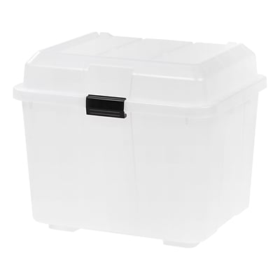 IRIS® Utility Trunk, Clear, 4 Pack (139781)