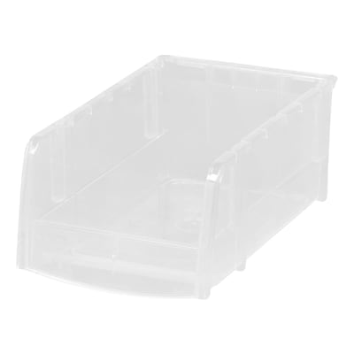 IRIS® Small Bin, Clear, 12 Pack (200510)