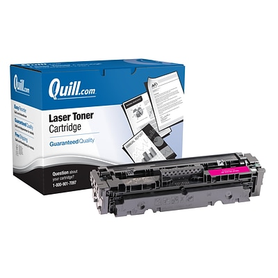 Quill Brand® HP 410 Remanufactured Magenta Toner Cartridge, Standard Yield (CF413A) (Lifetime Warranty)