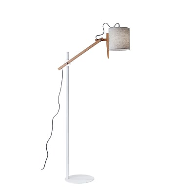 Adesso Floor Lamp White (3687-02)