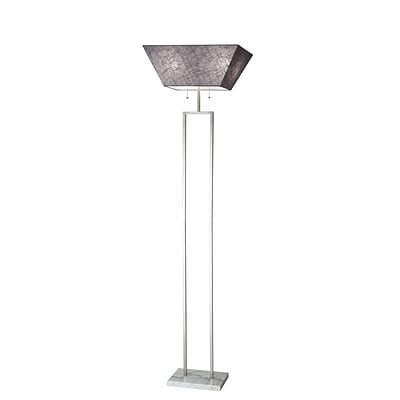 Adesso Floor Lamp Brushed Steel (4169-22)