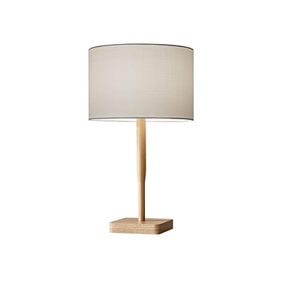 Adesso Table Lamp Natural (4092-12)