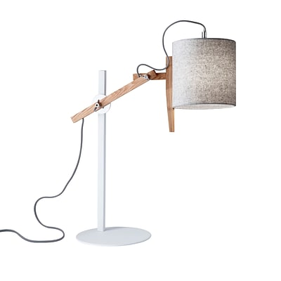 Adesso Table Lamp White (3686-02)