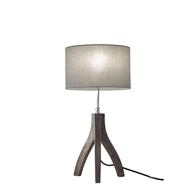 Adesso Sherwood Table Lamp, Rustic Wood (3837-06)
