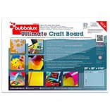 Bubbalux Ultimate Craft Board, 20x30 in Arctic White (2 Pack)(FCBU2030WH2)