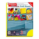 Bubbalux Ultimate Craft Board, Letter Size in Daffodil Yellow (6 pack)(FPBU118YL2)