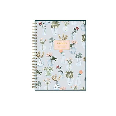 2019-2020 Blue Sky 5 7/8 x 8 5/8 Planner Notes, Vases (114359)
