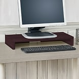 Way Basics 19.7W Simple Computer Monitor Stand, Espresso (WB-STAND-EO)