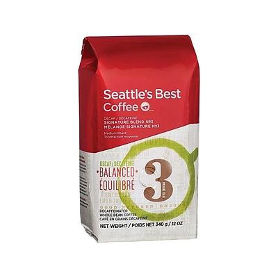 Seattle's Best Coffee Level 3 Decaf Whole Bean Coffee, Medium Roast  (11008565)