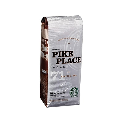 Starbucks Pike Place Ground Coffee, Medium Roast (11018186)