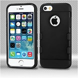 Insten Hard TPU Case For Apple iPhone SE / 5 / 5S - Black