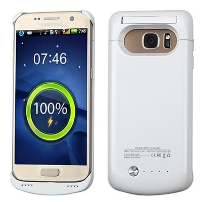 Insten 4200 mAh Quantum Energy Battery Case for Samsung Galaxy S7 - White