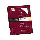 Southworth 8.5 x 11 Resume Paper, 32 Lbs., Wove, 100/Pack (RD18ICF)