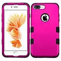 Insten Tuff 3-Piece Style Shockproof Soft TPU Hard Hybrid Cover Case For iPhone 7 Plus - Hot Pink/Bl