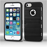 Insten Hard TPU Case For Apple iPhone 5/ SE / 5S - Black