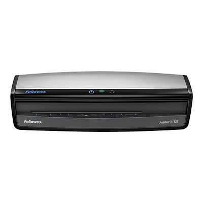 Fellowes Jupiter 2 125 Thermal & Cold Laminator, 12.5 Width, Black/Silver (5734101)