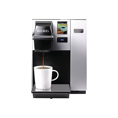 Keurig® K150P Commercial Brewing System Single Serve Coffee Maker, Black/Silver (20151)