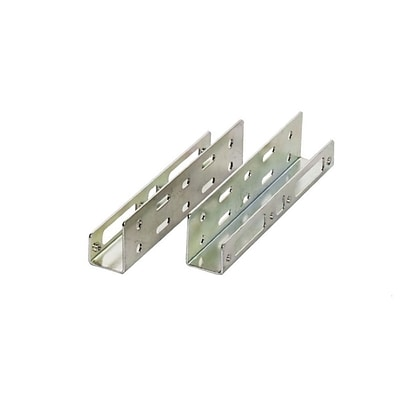 Syba 2.5 HDD Mounting Bracket Kit for 3.5 Floppy Bay 1.00 mm metal strips