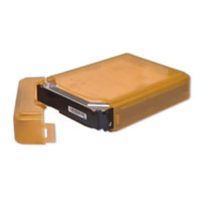 Syba Plastic Storage Box for 3.5 HDD Fit 1 HDD Dust-proof Anti-Static Orange