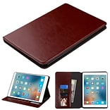 Insten Book-Style Leather Fabric Cover Case w/stand/card holder/Photo Display For Apple iPad Pro (9.