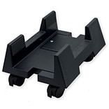 Syba CPU Stand for ATX Case Plastic Adjustable Width with wheels - Black