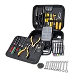 Syba 41 Pieces Professional Workstation Repair Tool Kit PU Carrying Zipper Case