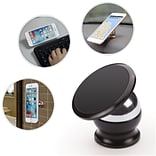 Insten Universal Magnetic Holder Car Mount for iPhone 6s Plus SE Samsung Galaxy S7 S6 Edge Note 5 4