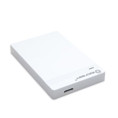 IOCrest USB 3.0 2.5 Plastic SATA6G HDD / SSD Enclosure compact size White